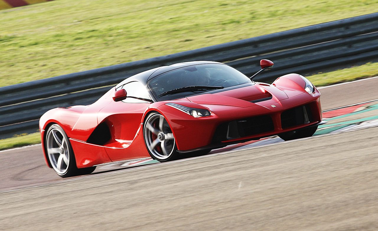 Click here for each car s actual lap time at caranddriver com look - Ferrari S Hot Laferrari Hypercar Struts Its Stuff In Slow Mo Warning May Induce Sweating Video
