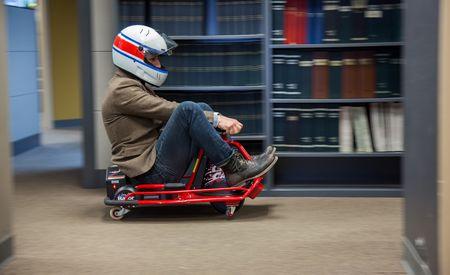 Razor Crazy Cart - Will It Commute? [Video]