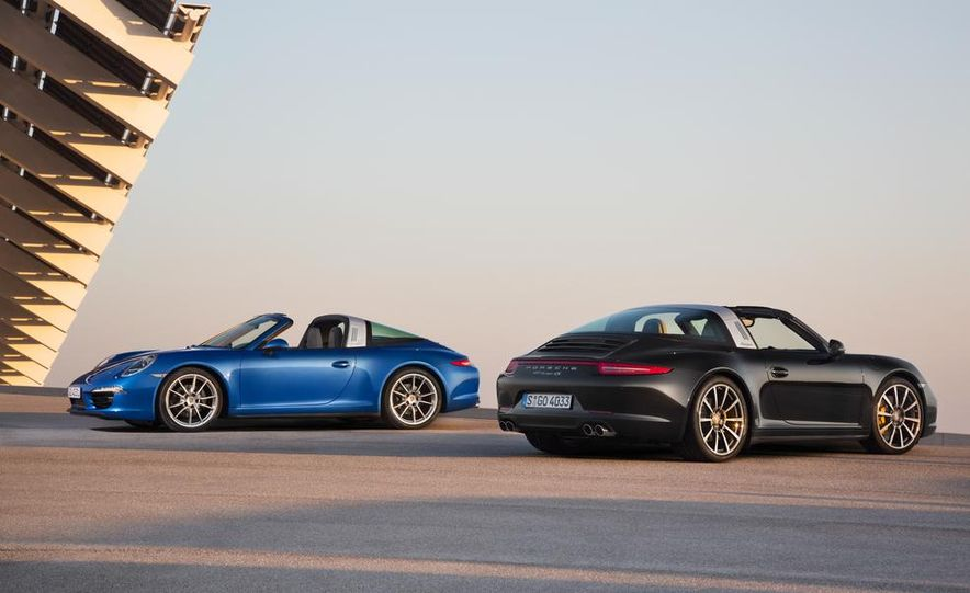 2014 Porsche 911 Targa 4 and 4S - Slide 1