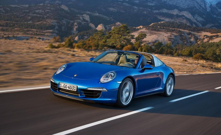 2014 Porsche 911 Targa 4 and 4S - Slide 2