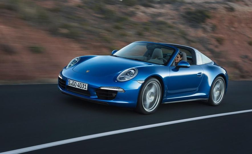2014 Porsche 911 Targa 4 and 4S - Slide 3