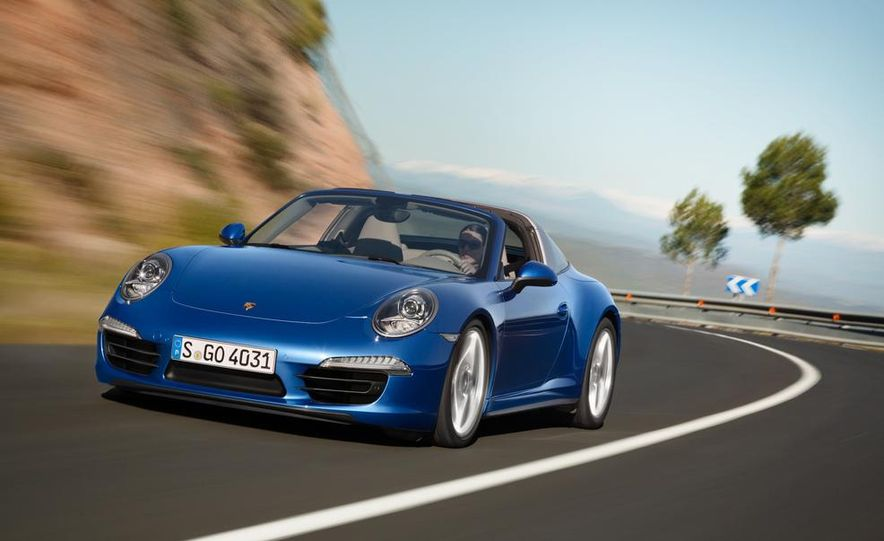 2014 Porsche 911 Targa 4 and 4S - Slide 4