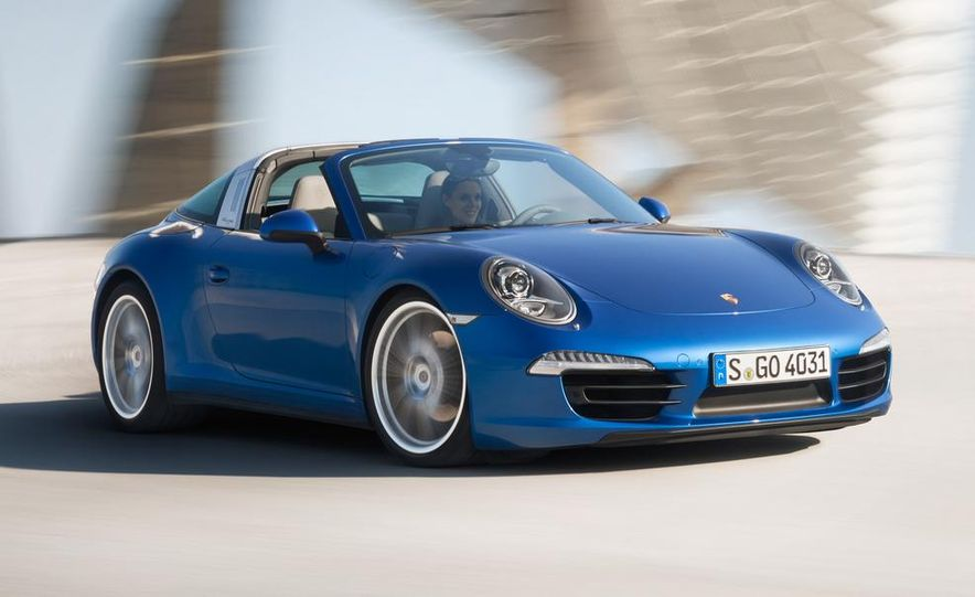 2014 Porsche 911 Targa 4 and 4S - Slide 5