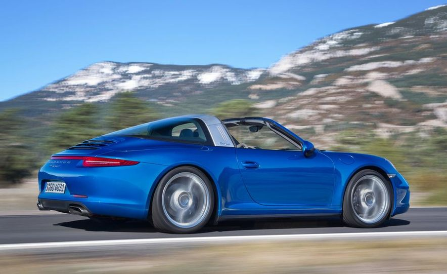 2014 Porsche 911 Targa 4 and 4S - Slide 6