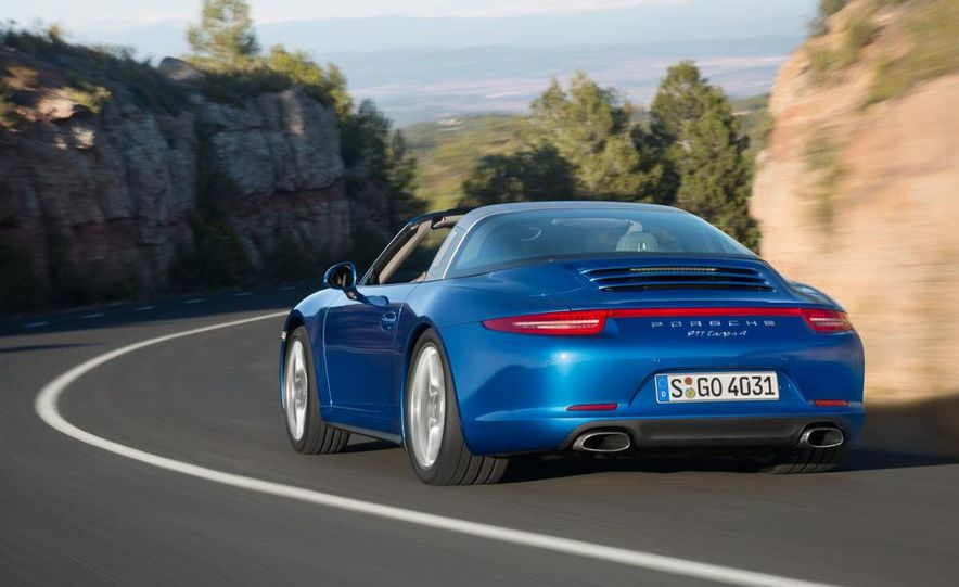 2014 Porsche 911 Targa 4 and 4S - Slide 7
