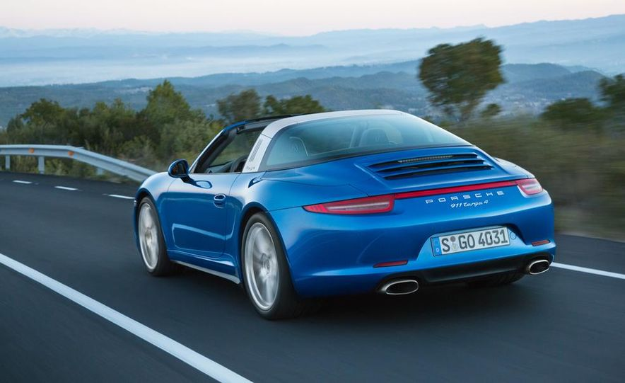 2014 Porsche 911 Targa 4 and 4S - Slide 8