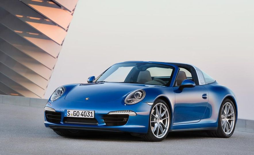 2014 Porsche 911 Targa 4 and 4S - Slide 9