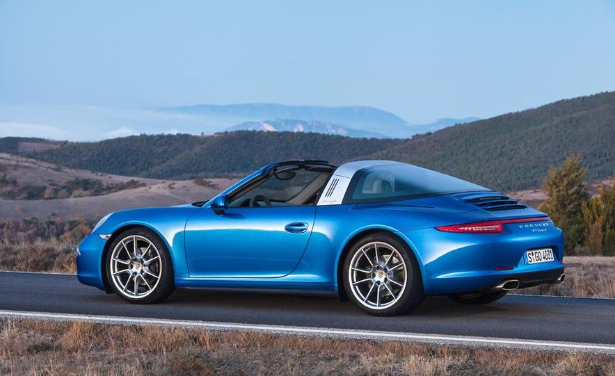 2014 Porsche 911 Targa 4 and 4S - Slide 11