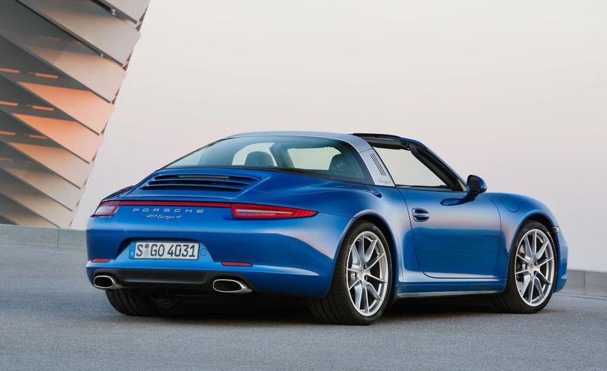 2014 Porsche 911 Targa 4 and 4S - Slide 13