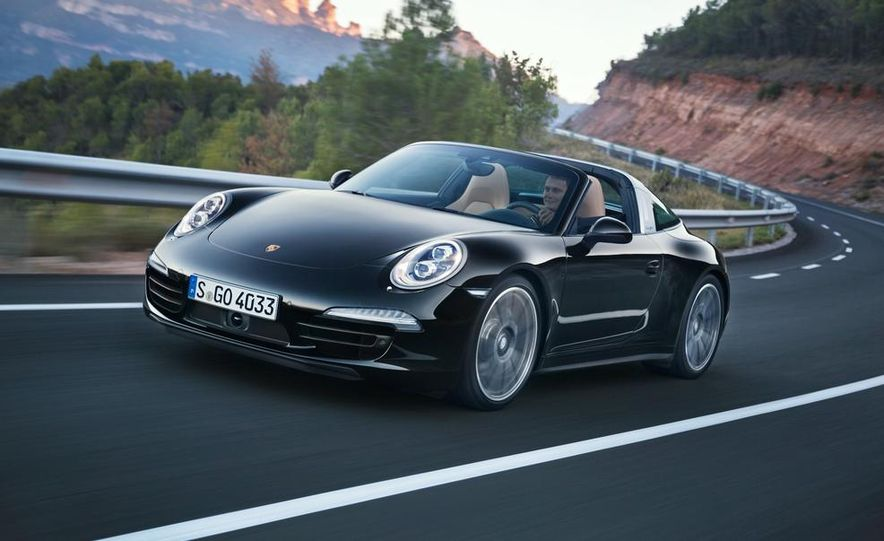 2014 Porsche 911 Targa 4 and 4S - Slide 21