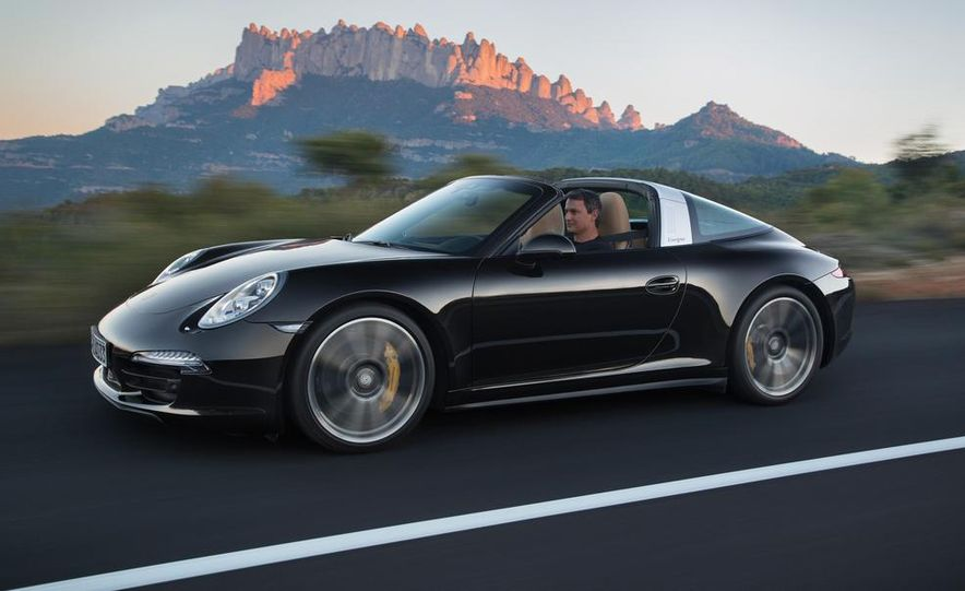 2014 Porsche 911 Targa 4 and 4S - Slide 23