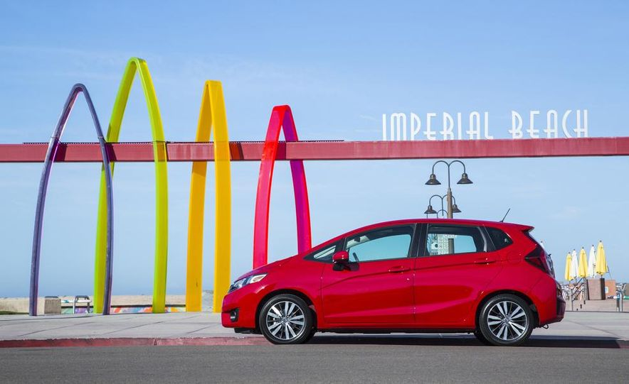 2015 Honda Fit - Slide 17