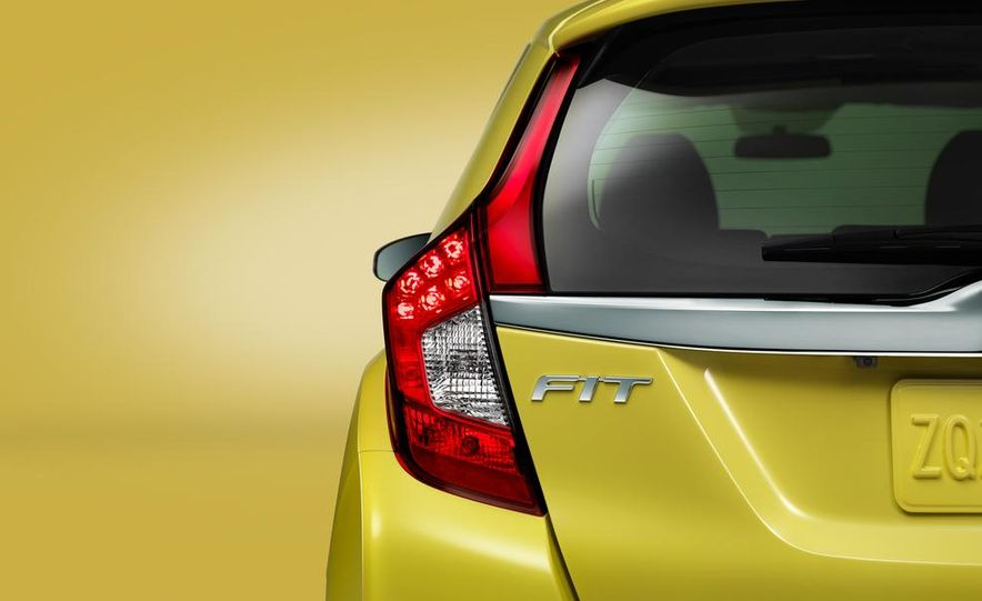 2015 Honda Fit - Slide 35