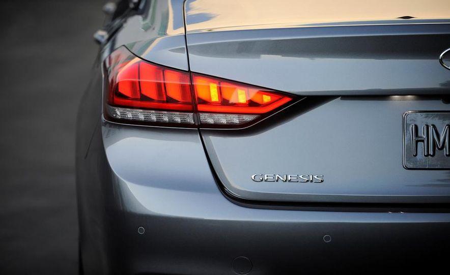 2015 Hyundai Genesis 5.0 - Slide 55