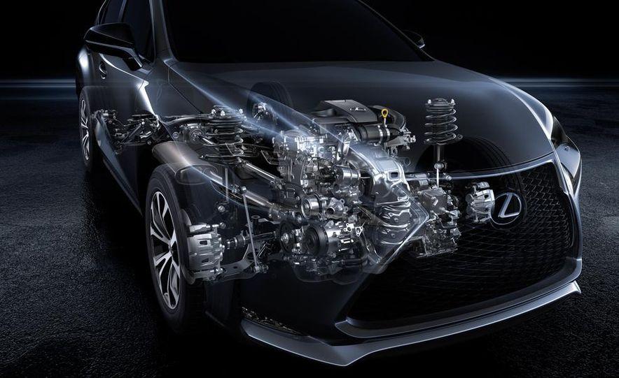 2015 Lexus NX200t F Sport - Slide 36