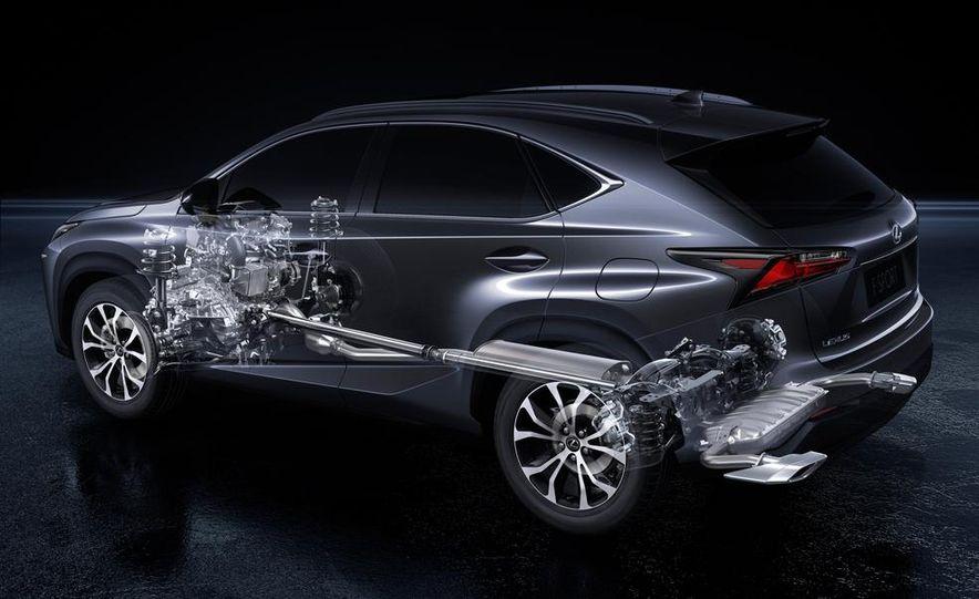 2015 Lexus NX200t F Sport - Slide 37