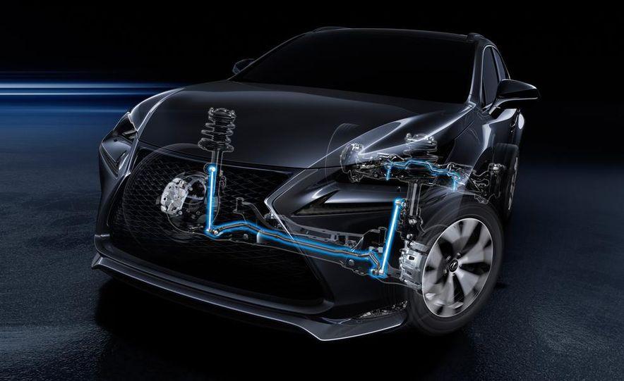 2015 Lexus NX200t F Sport - Slide 38
