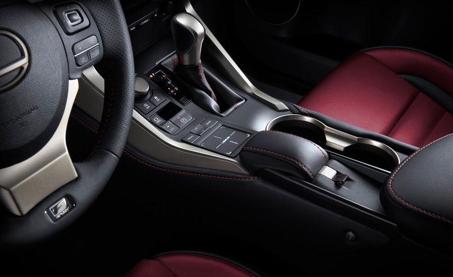 2015 Lexus NX200t F Sport - Slide 17