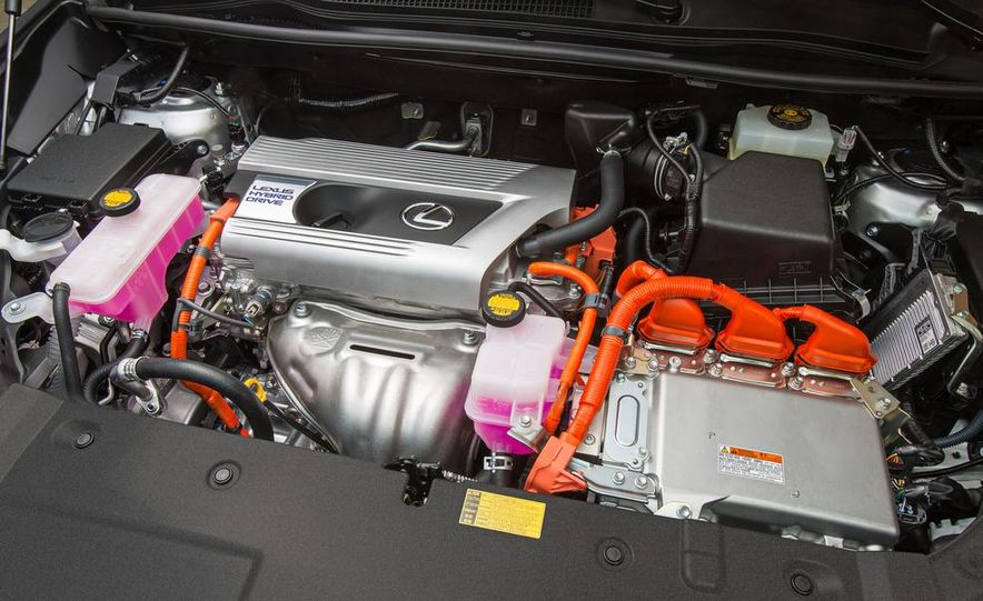 2015 Lexus NX200t F Sport - Slide 35