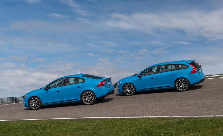 2015 Volvo V60 Polestar and S60 Polestar - Slide 6