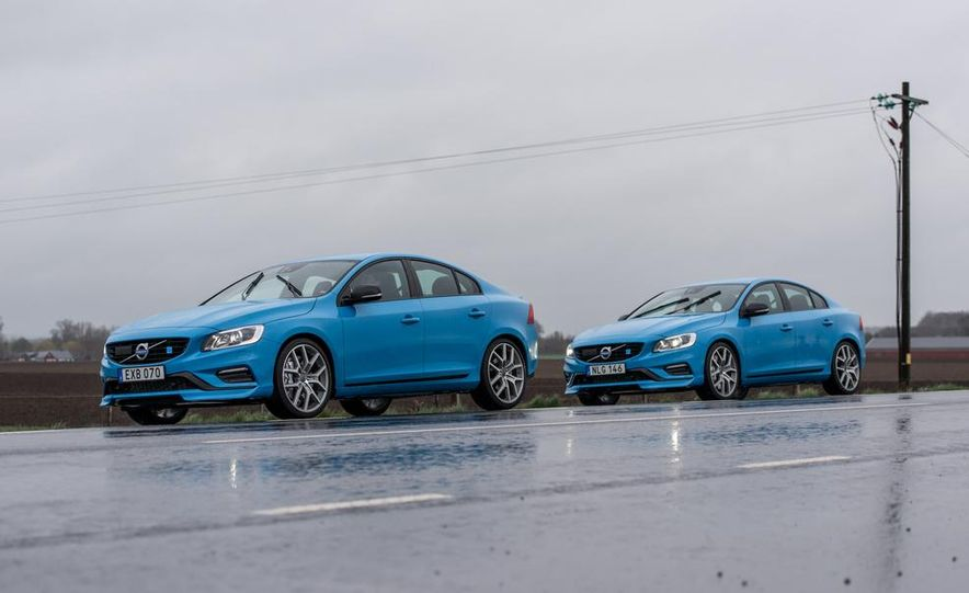 2015 Volvo V60 Polestar and S60 Polestar - Slide 17