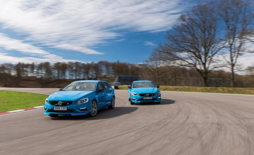 2015 Volvo V60 Polestar and S60 Polestar - Slide 1