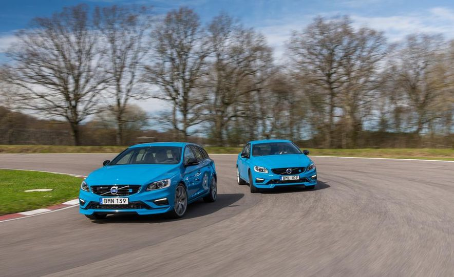 2015 Volvo V60 Polestar and S60 Polestar - Slide 2