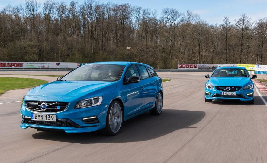 2015 Volvo V60 Polestar and S60 Polestar - Slide 3