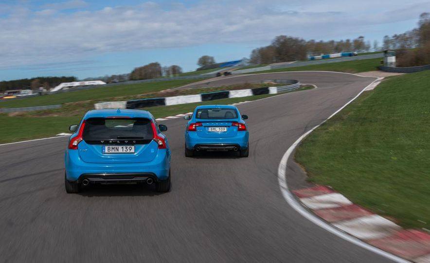 2015 Volvo V60 Polestar and S60 Polestar - Slide 4