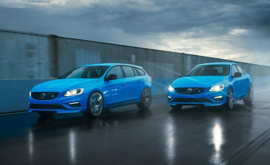 2015 Volvo V60 Polestar and S60 Polestar - Slide 8