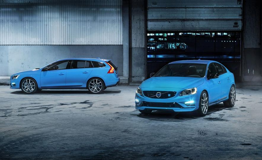 2015 Volvo V60 Polestar and S60 Polestar - Slide 9