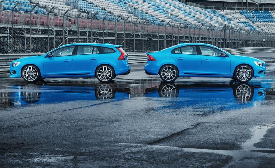 2015 Volvo V60 Polestar and S60 Polestar - Slide 10