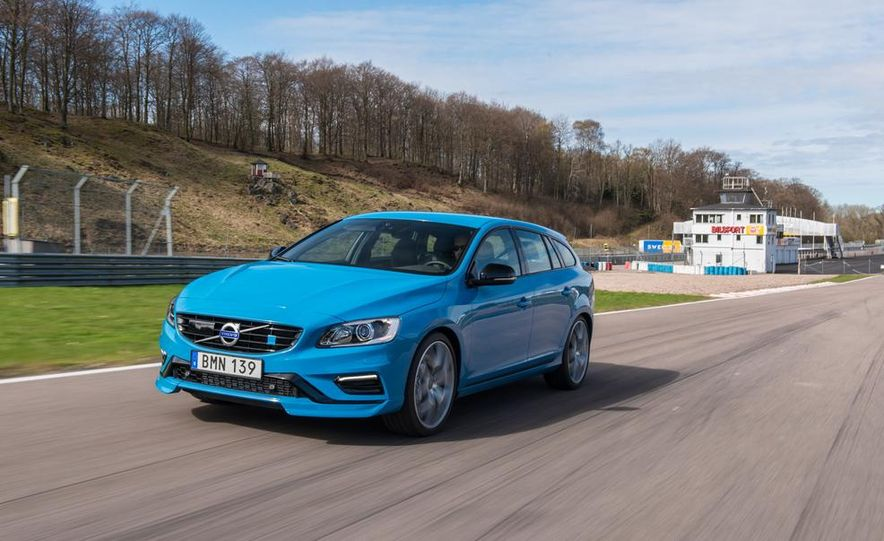 2015 Volvo V60 Polestar and S60 Polestar - Slide 56