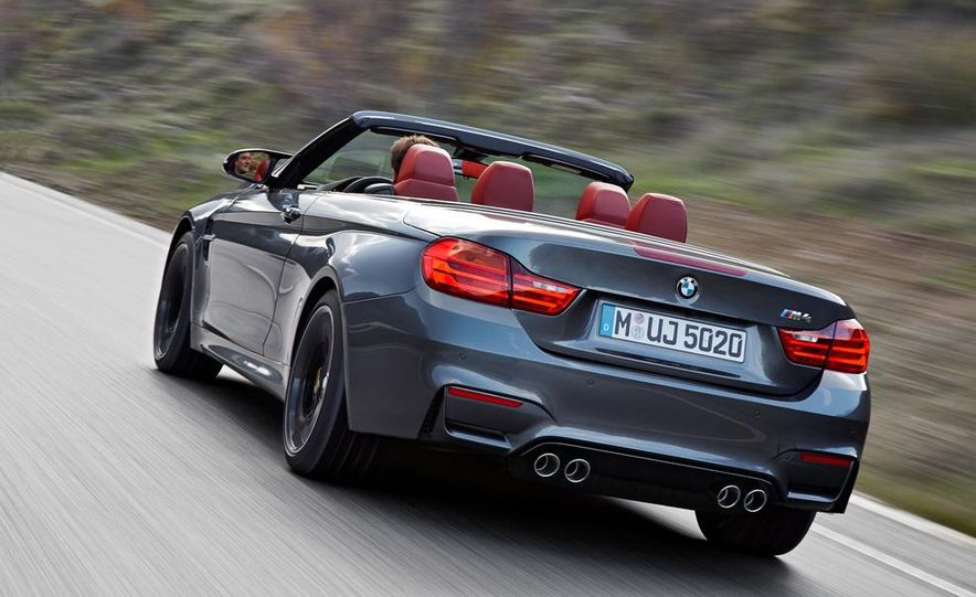 2015 BMW M4 convertible - Slide 15