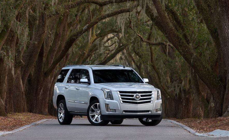 2015 Cadillac Escalade - Slide 25