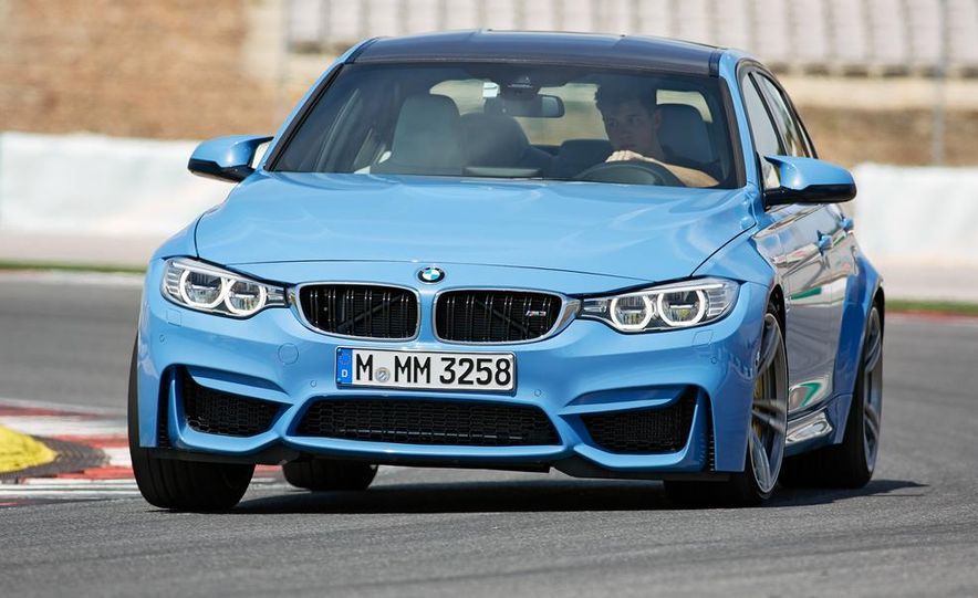 2015 BMW M3 sedan - Slide 2