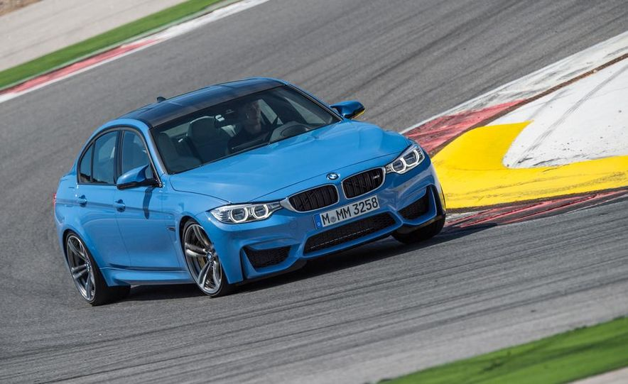 2015 BMW M3 sedan - Slide 10