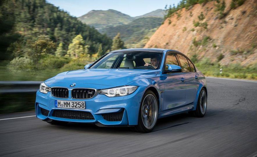 2015 BMW M3 sedan - Slide 17