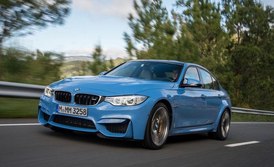 2015 BMW M3 sedan - Slide 21