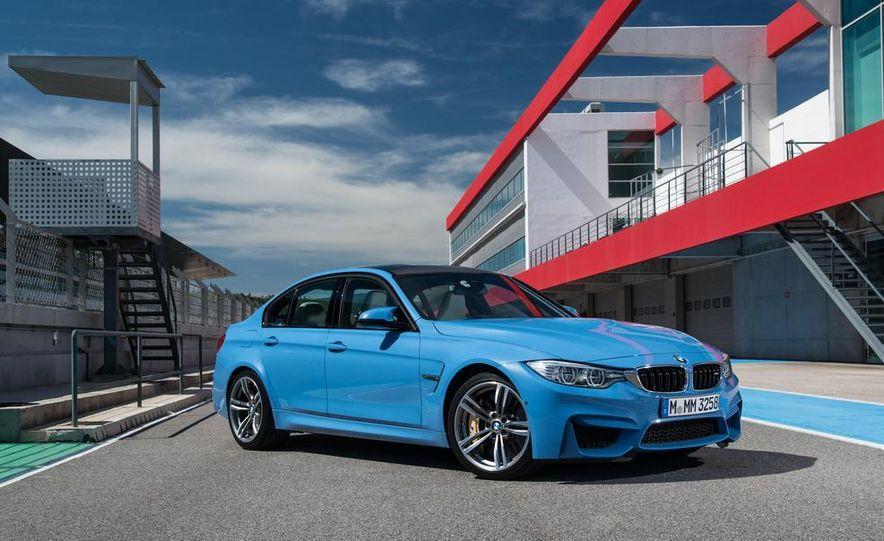 2015 BMW M3 sedan - Slide 24