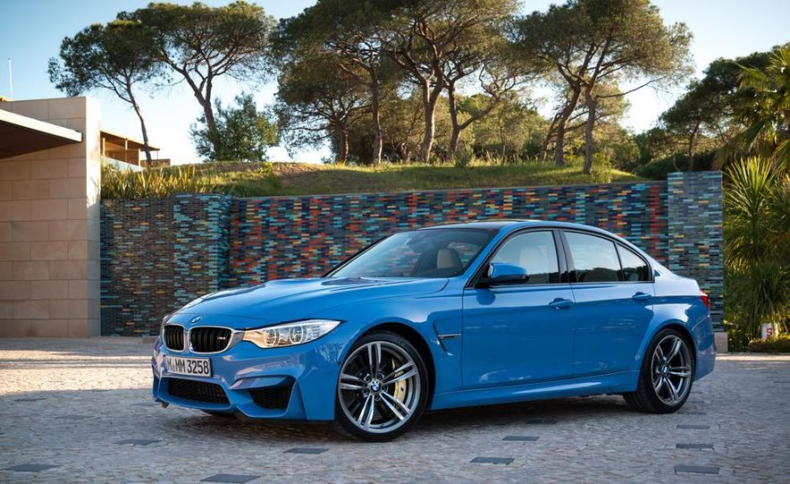2015 BMW M3 sedan - Slide 33