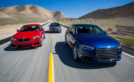 2015 Audi A3 Quattro vs. 2014 BMW 228i, 2014 Mercedes-Benz CLA250 4MATIC