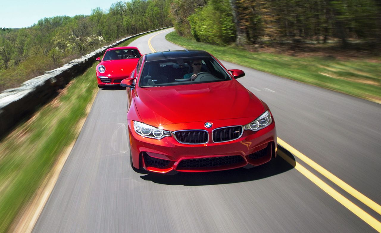 2015 BMW M4 vs. 2014 Porsche 911 Carrera