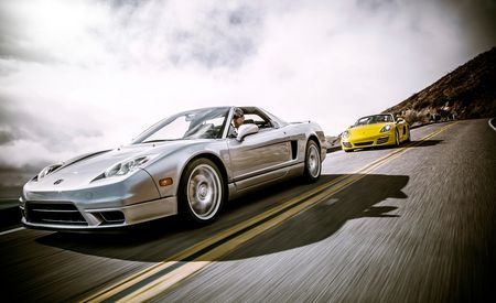New vs. Old: 2013 Porsche Boxster vs. 2005 Acura NSX-T