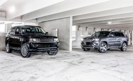 New vs. Old: 2014 Jeep Grand Cherokee 4x4 Overland vs. 2010 Land Rover Range Rover Sport HSE