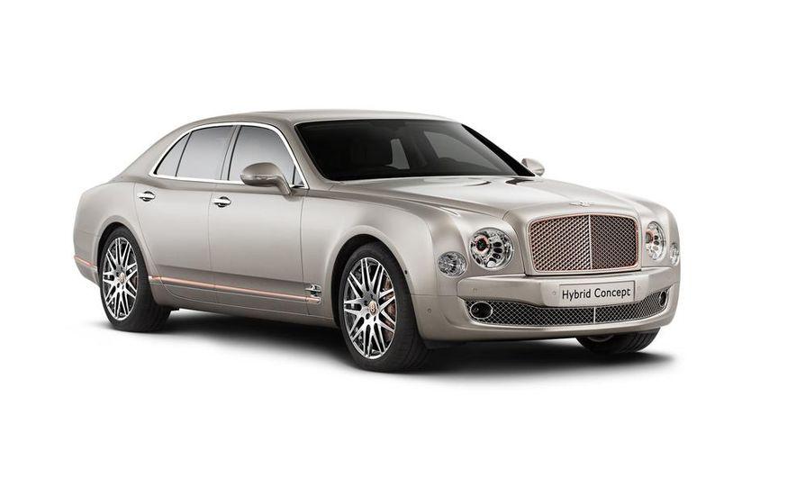 Bentley Hybrid Concept - Slide 1