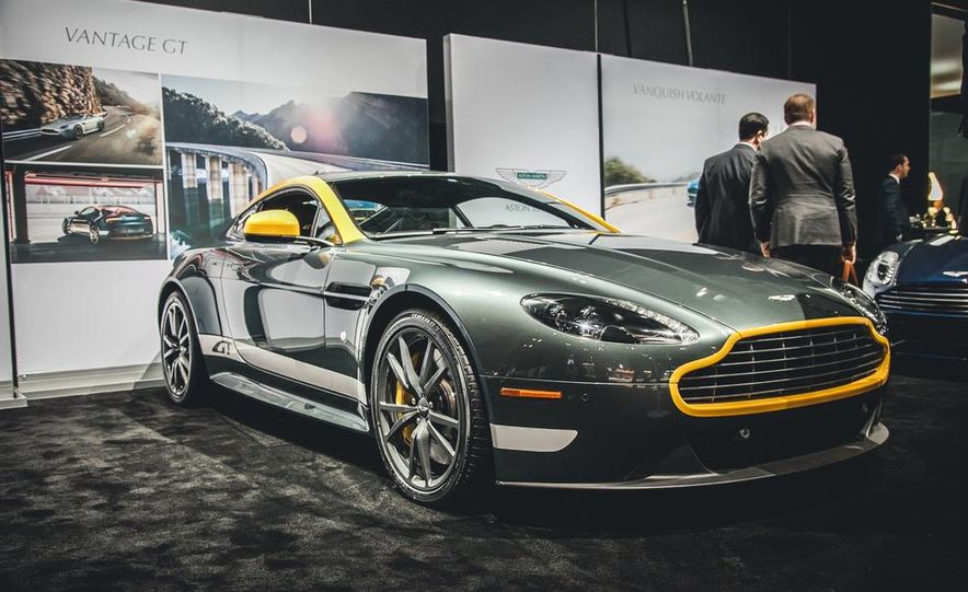 2015 Aston Martin V-8 Vantage GT - Slide 1