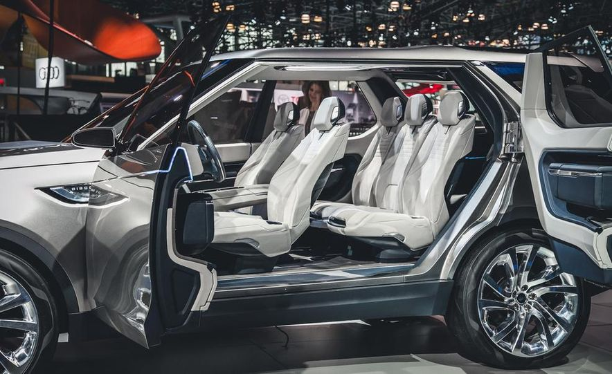 Land Rover Discovery Vision concept - Slide 6
