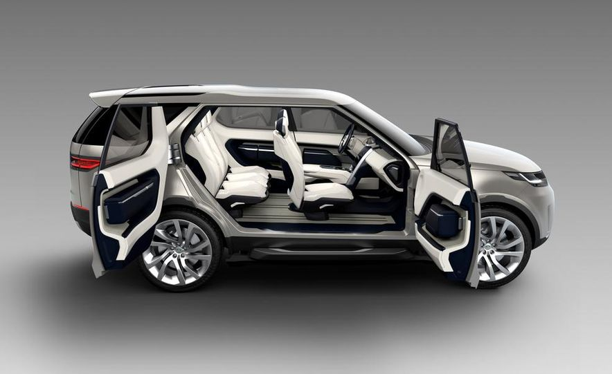 Land Rover Discovery Vision concept - Slide 12