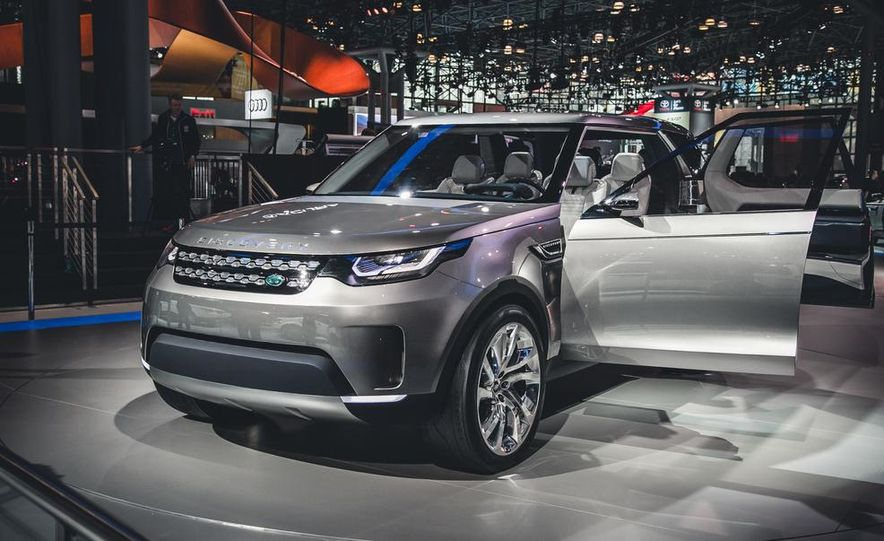 Land Rover Discovery Vision concept - Slide 1